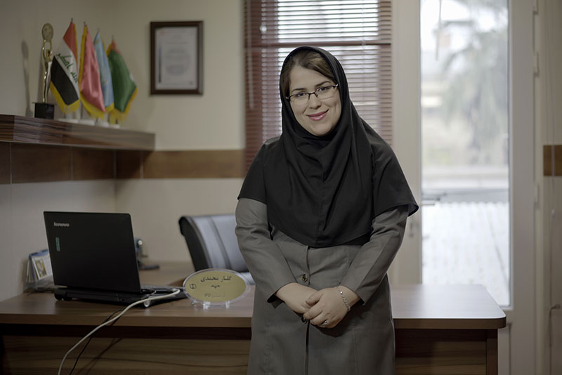 گلناز محمدی