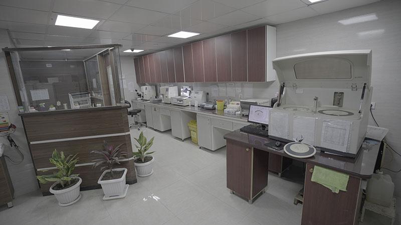 آزمایشگاه بیمارستان بسکی