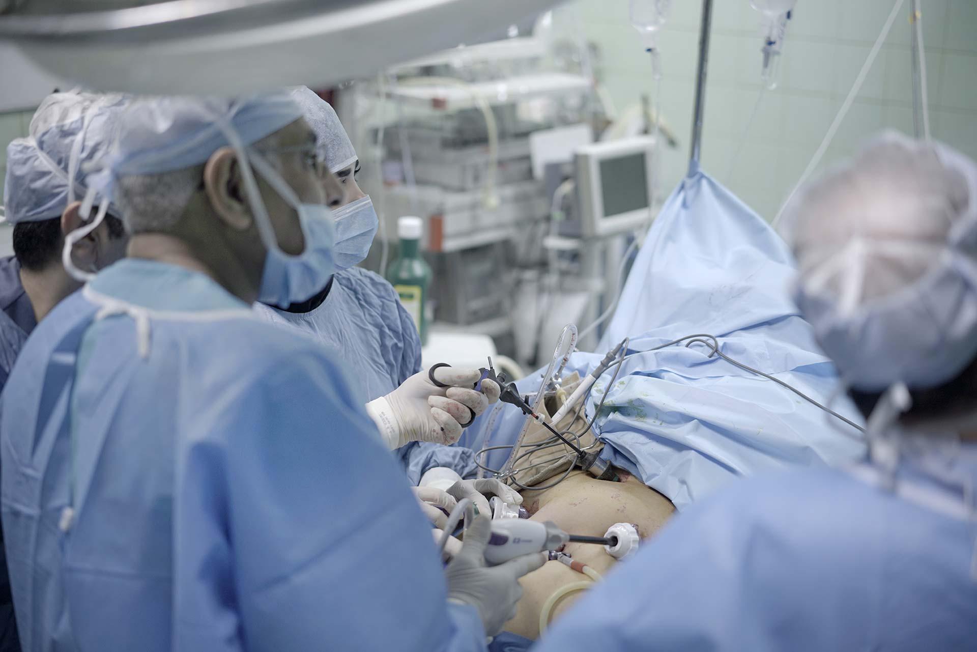 اتاق عمل بیمارستان بسکی