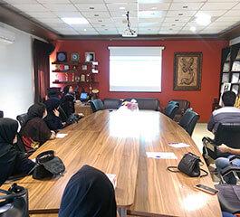 جلسه آموزشی اتوماسیون اداري