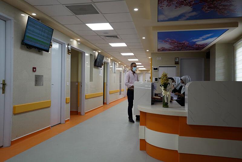 بخش Post Partom بیمارستان بسکی